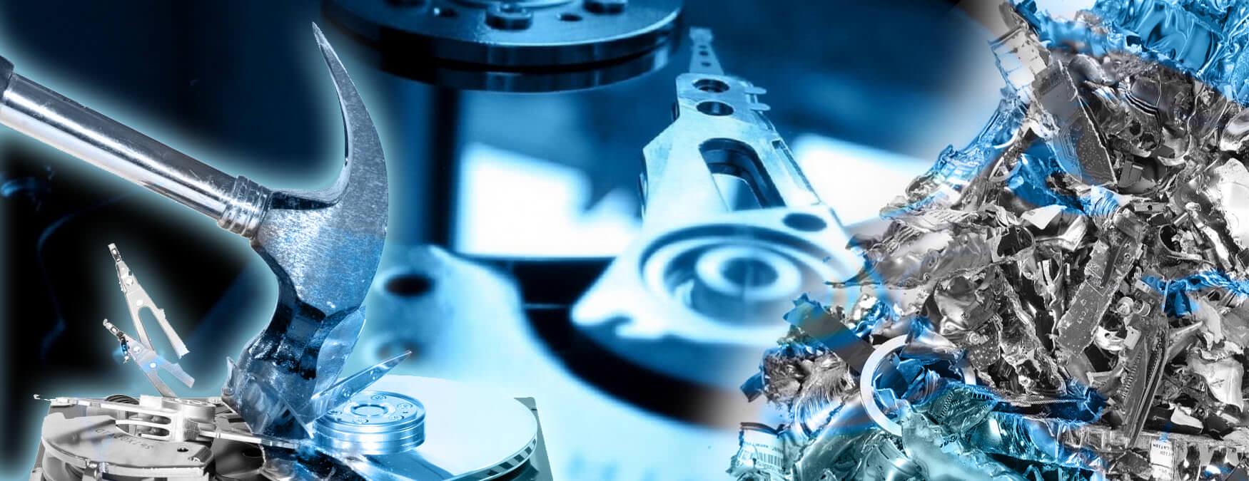 Secure Hard Drive Shredding - AGR