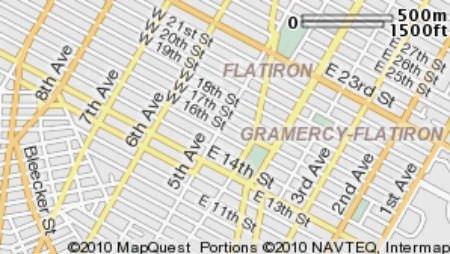 Flatiron District Map Image