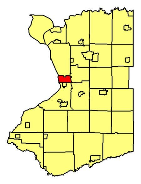 Lackawanna Map Image