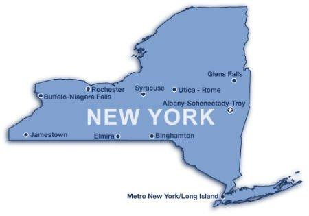 newyorkmap1-1 glen falls Image
