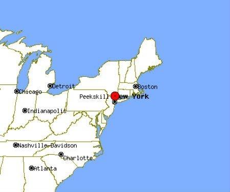 Peekskill Map Image
