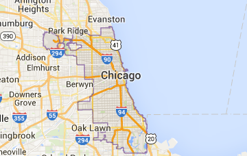Chicago Electronics Recycling Map