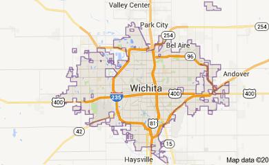wichita-ks-map