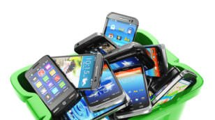 Ccellular phones are recycled differently from other electronics