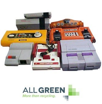 Video Game Console Recycling Image