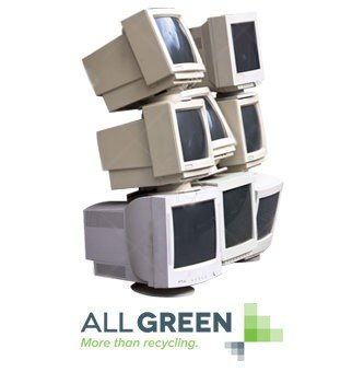 Recycle CRT Monitor