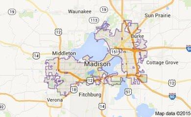 Madison Map