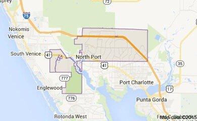 North Port Ffl Map