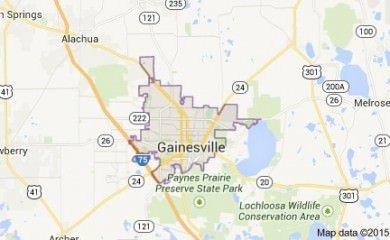 gainesville-fl-map