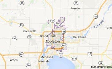 Appleton Map