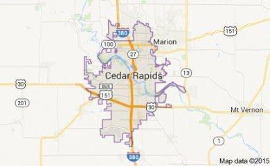 Cedar rapids-ia Map Image