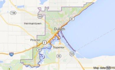 Duluth Mn Map Image