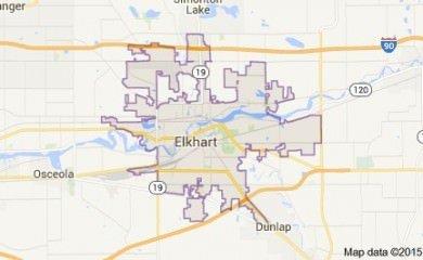 elkhart-in-map