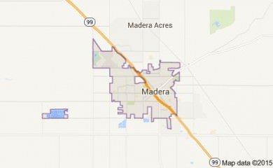 Madera Map