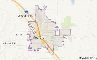 Medford Or Map Image