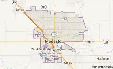 Modesto Map