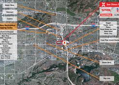 San Dimas Map Image