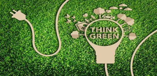 Think Green Image