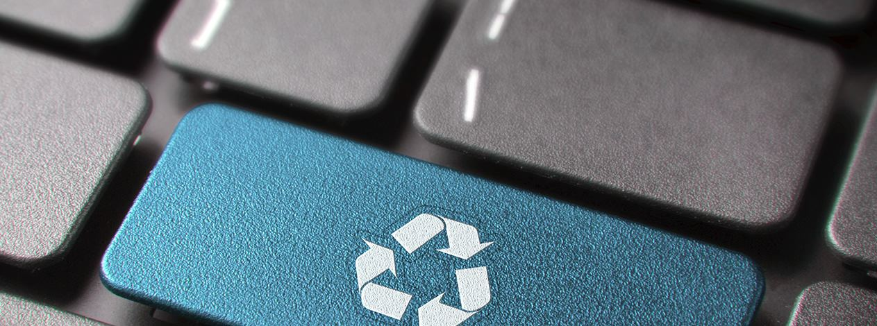 electronics recycling and data destruction