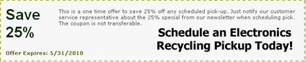 Electronics Recycling Special