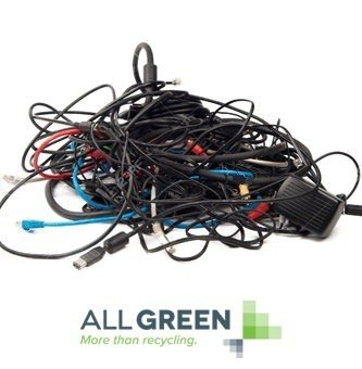 Wires and Cables Recycling done right - All Green Electronics ...