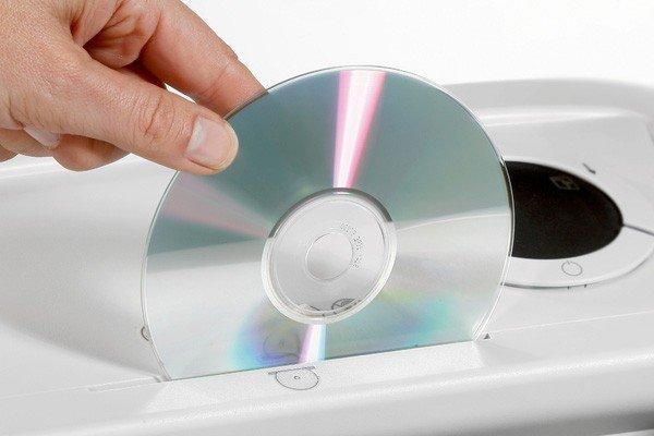 DVD Shredding Image - AGR