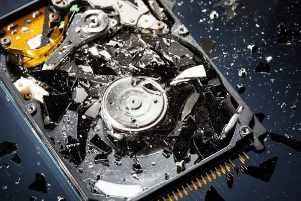 How Does Hard Drive Crushing Work Image - AGR